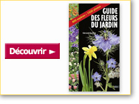Livre Guide des fleurs du jardin