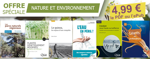 Offre spéciale livres numériques - Nature et environnement